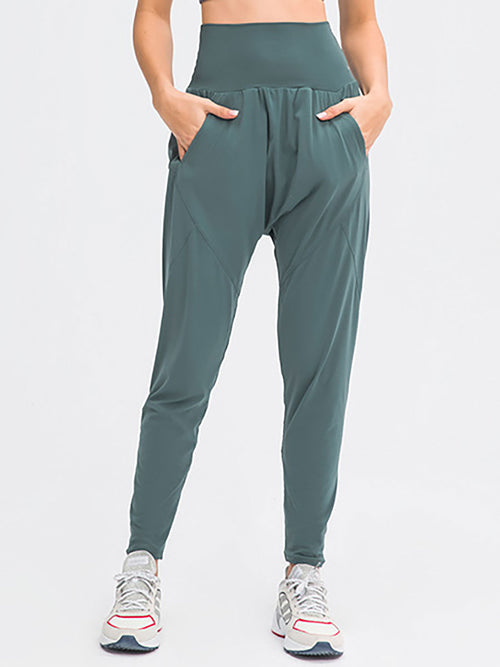 The Luna Yoga Pant Ocean 1