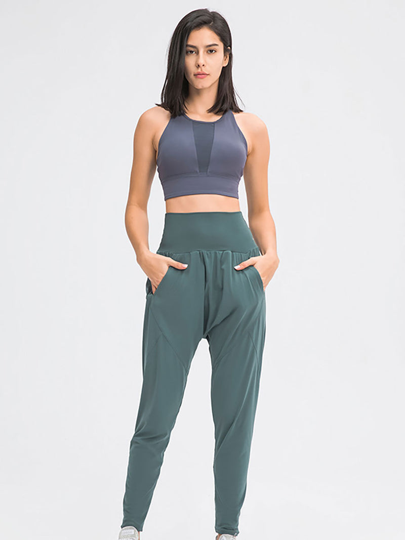 The Luna Yoga Pant Ocean 2