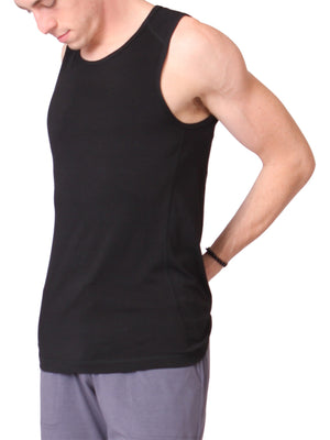 The Practice Top for Men in Black