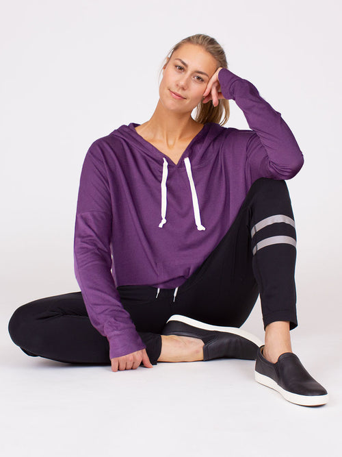 Sanctuary Hoodie Grape