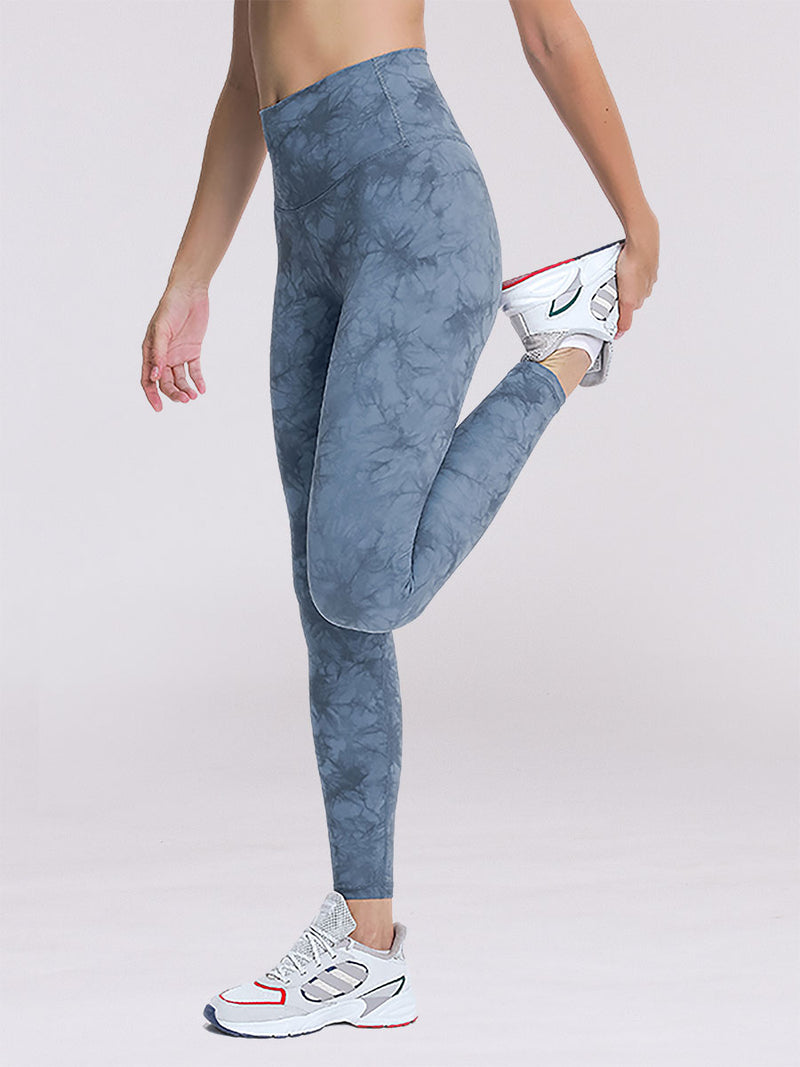 Smoother Leggings in Blue Smoke 4