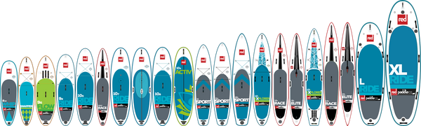 2017 Red Paddle Co Fleet