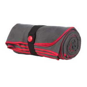Red Original Quick Dry Microfibre Towel Folded