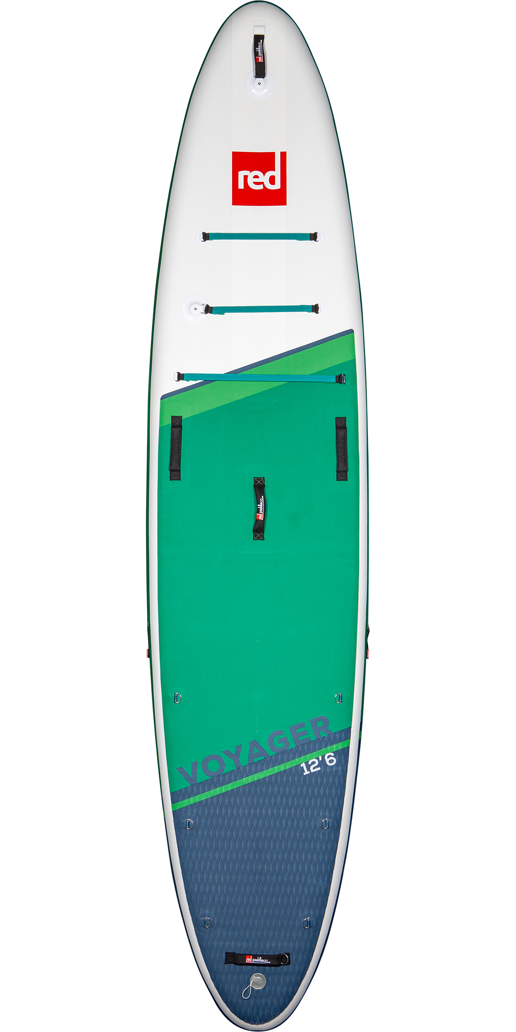 2021 Red Paddle Co 12'6 Voyager Front