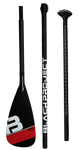 Black Project Epic 3pc Carbon Paddle Top