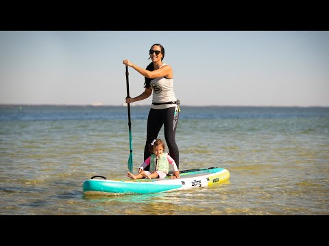 "Bote 10'8"" Breeze Aero Classic Inflatable SUP Package"