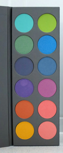 Bright 12 pan Eyeshadow Palette - Limelily