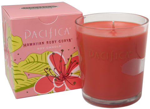 Hawaiian Ruby Guava - Soy Candle - Pacifica