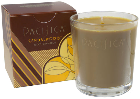 Sandalwood - Soy Candle 160g - Pacifica