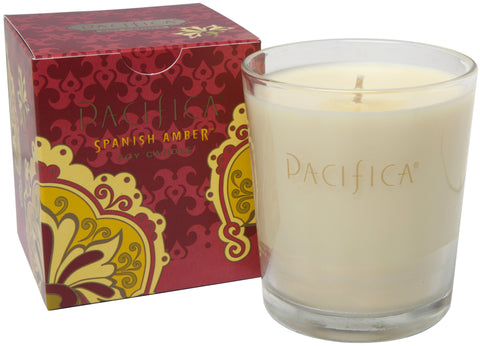 Spanish Amber - Soy Candle - Pacifica