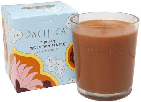 Tibetan Mountain Temple - Soy Candle - Pacifica