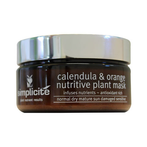 Simplicit̩ Calendula & Orange Plant Nutrient Mask