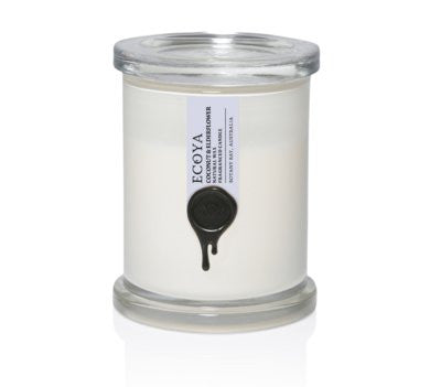 Ecoya Metro Jar Candles - Coconut & Elderflower