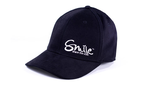 Sure Fit Hat Black | White - Smile Share The Vibe