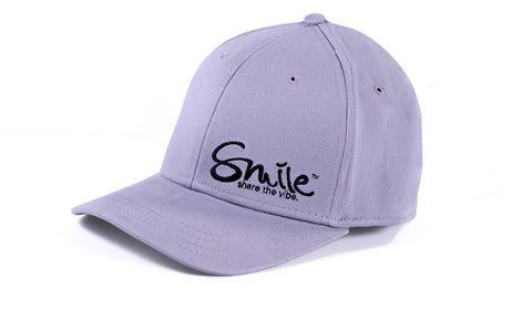 Sure Fit Hat Grey | Black - Smile Share The Vibe