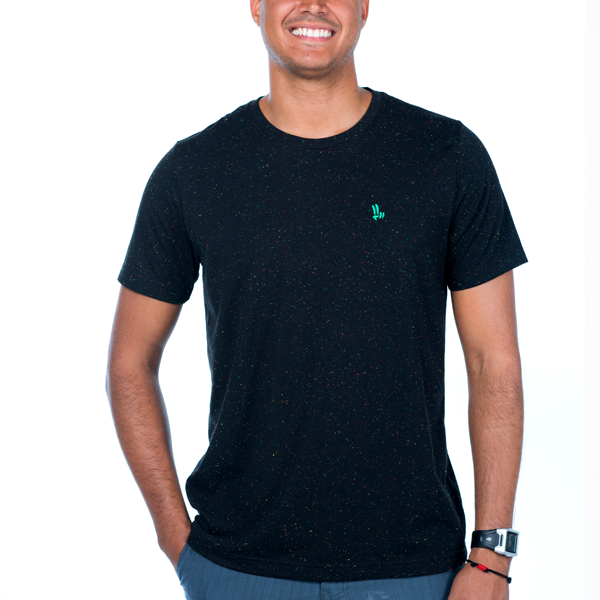 Smile Guys T-Shirt | Speckled Peace | Island Vibes - Smile Share The Vibe