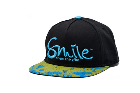 Smile Hat | Mahi Oh Snap Black | Blue - Smile Share The Vibe - 1