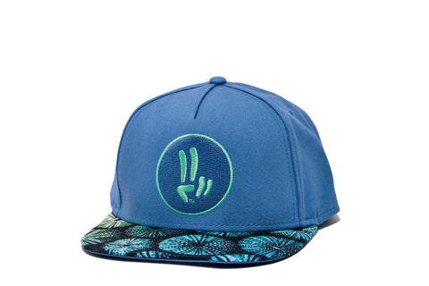 Smile Hat | Sea Urchin Peace Ocean | Seafoam - Smile Share The Vibe - 1