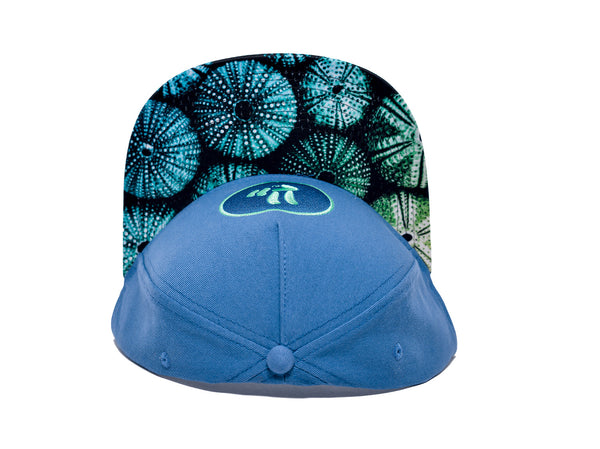 Smile Hat | Sea Urchin Peace Ocean | Seafoam - Smile Share The Vibe - 2