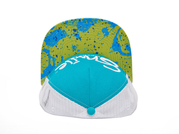 Smile Hat | Mahi Oh Snap Teal | White - Smile Share The Vibe - 2