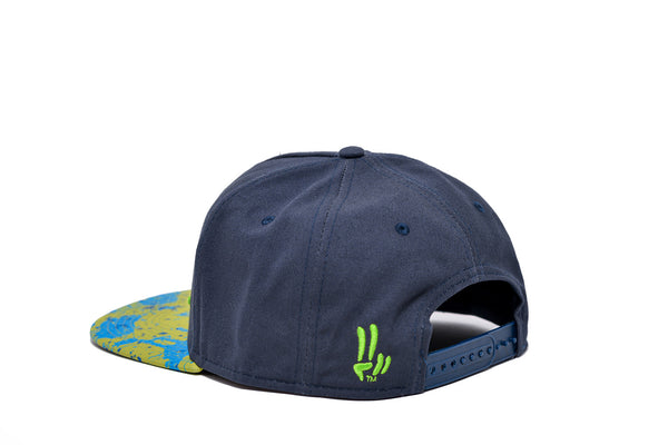 Smile Hat | Mahi Oh Snap Navy | Lime - Smile Share The Vibe - 3