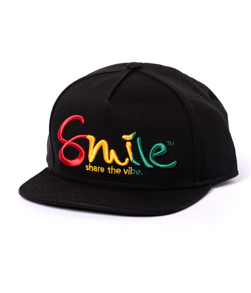 Smile Hat | Oh Snap Rasta - Smile Share The Vibe