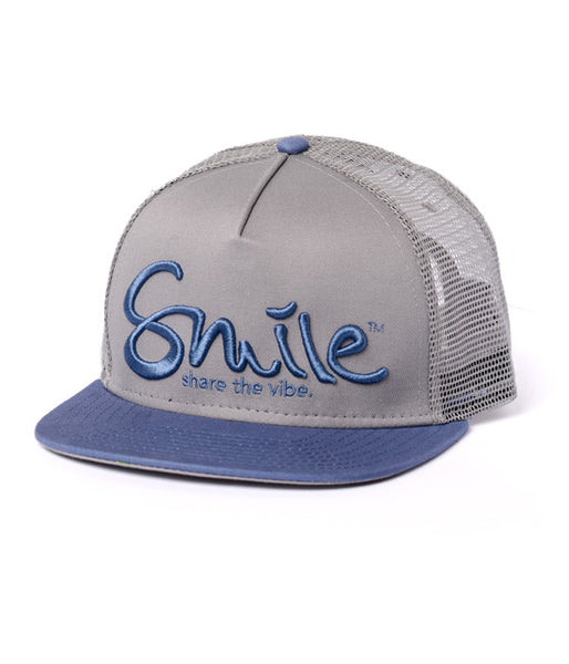 Smile Hat | Oh Snap Slate | Steel - Smile Share The Vibe