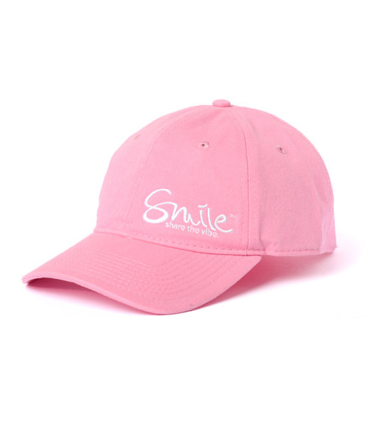 Smile Hat | Relaxed Fit Pink - Smile Share The Vibe