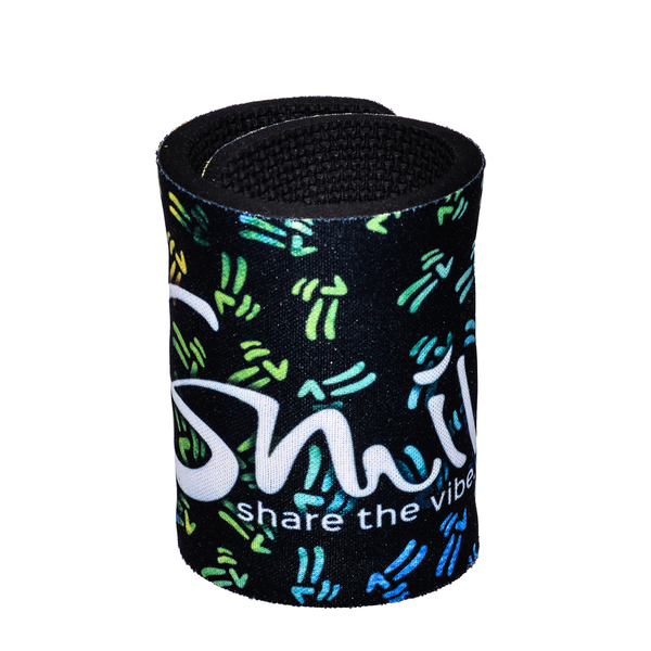 Smile Koozie - Peace Pattern - Smile Share The Vibe - 2
