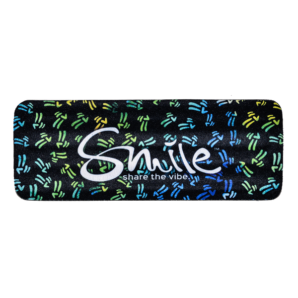Smile Koozie - Peace Pattern - Smile Share The Vibe - 1