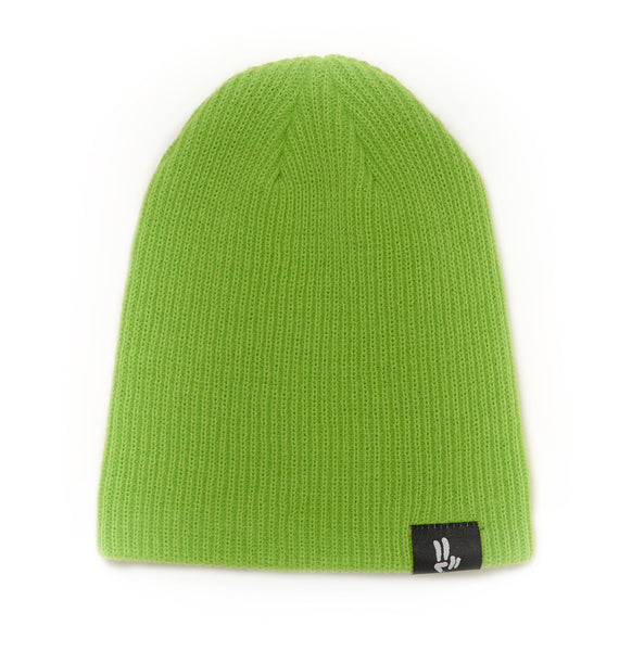 Smile Beanie | Lime - Smile Share The Vibe - 2