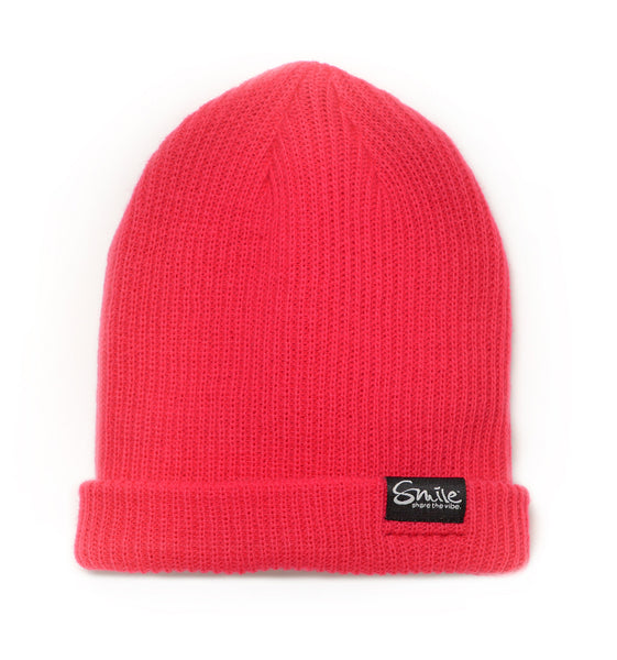Smile Beanie | Pink - Smile Share The Vibe - 1