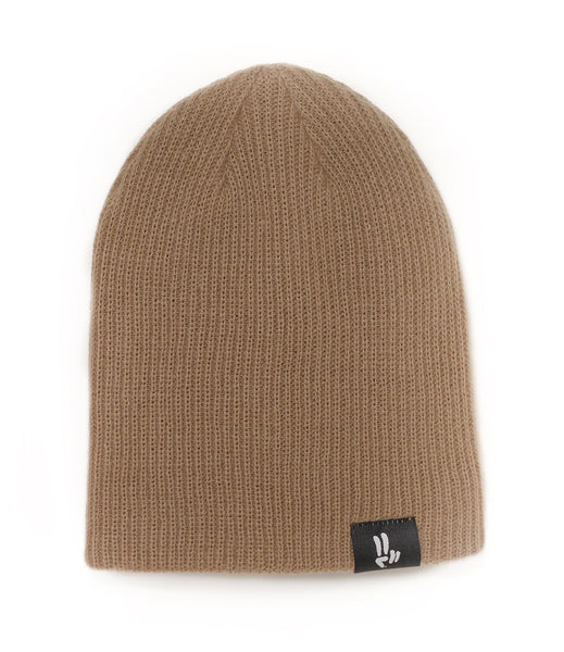 Smile Beanie | Tan - Smile Share The Vibe - 2