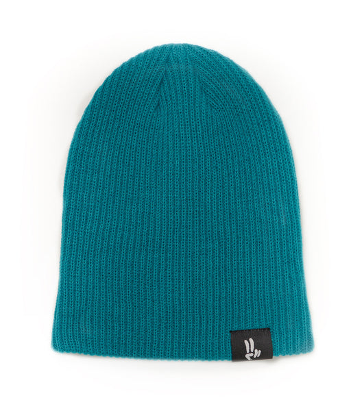 Smile Beanie | Teal - Smile Share The Vibe - 2