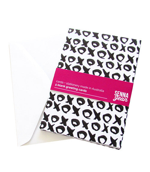 PATTERNED CARD PACK - Black
