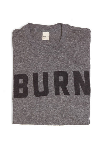 BURN Grey T-Shirt