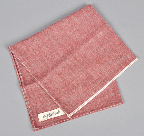 red chambray bandana