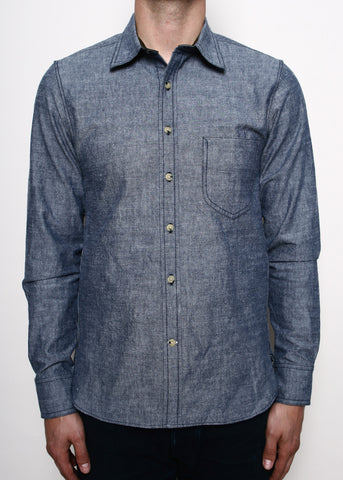 Rogue Territory Blue Chambray Traveler Shirt