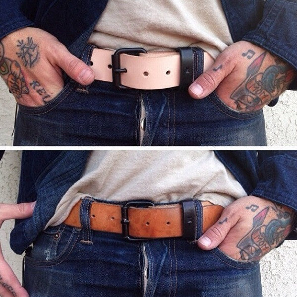 Natural Minimalist Belt