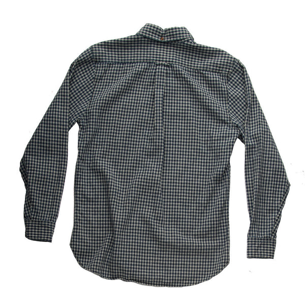 Indigo Gingham Chambray