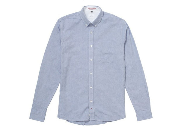 Light Blue Washed Oxford