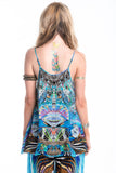 DANCING PEACOCK CAMI TOP