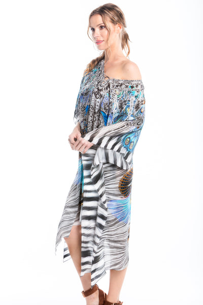 LOVE IN SUMMER SHORT KAFTAN