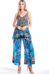 INDECENT BLUE PALAZZO PANTS