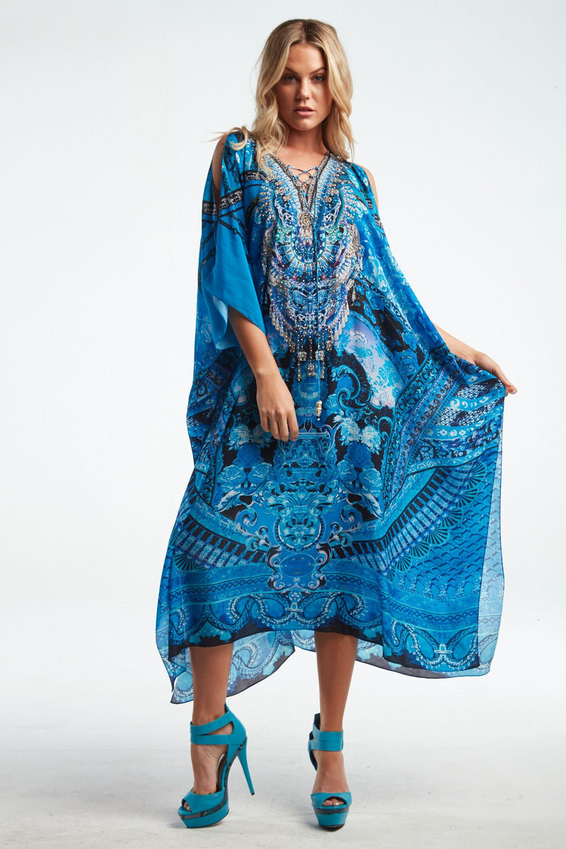 UNFORGETTABLE DREAM MEDIUM KAFTAN W SLIT
