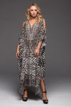 MERYL MEDIUM KAFTAN W SLIT