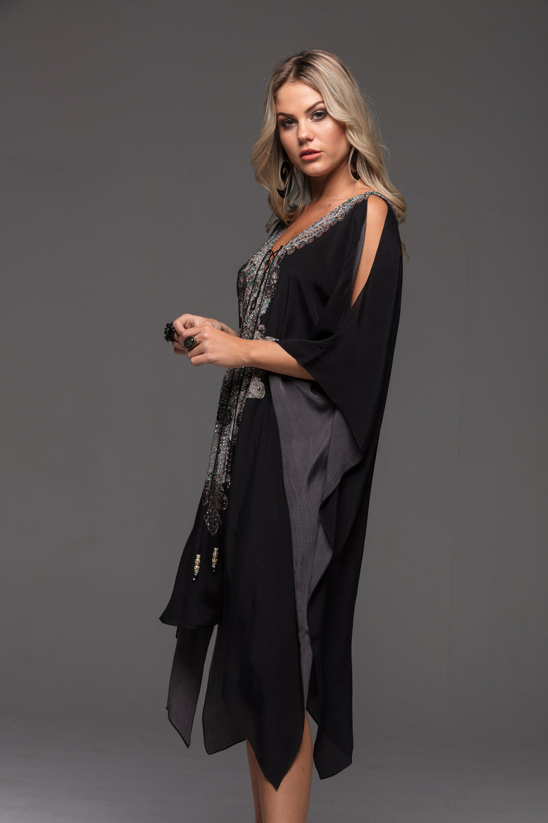 ALICE SHORT KAFTAN W SLIT