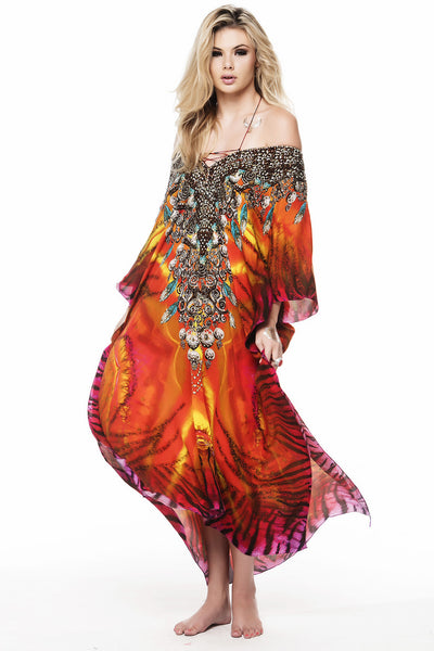 TROPICAL THUNDER MEDIUM KAFTAN