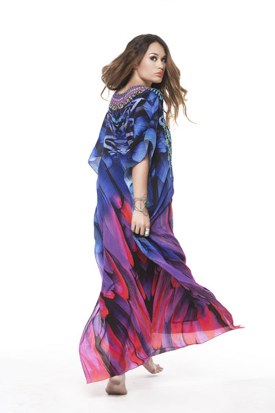 WINGS OF FREEDOM LONG KAFTAN
