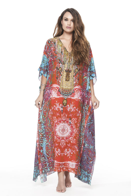 MANDALA LONG KAFTAN